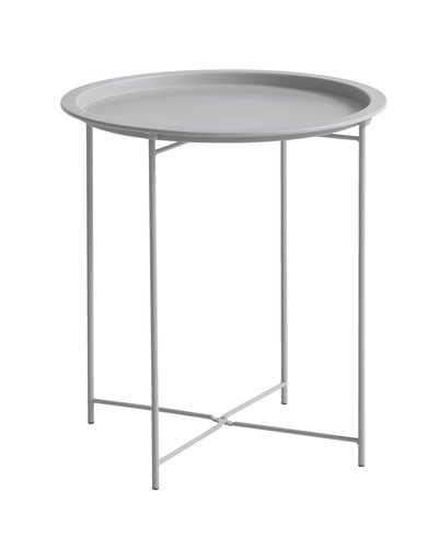 End table RANDERUP D47 silver grey
