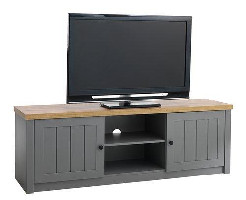 TV-stalak MARKSKEL siva/hrast