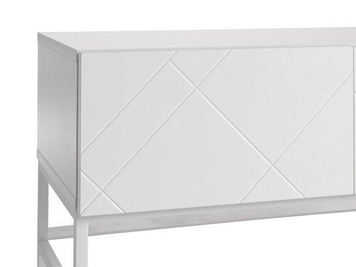 TV stolík LADBY biela