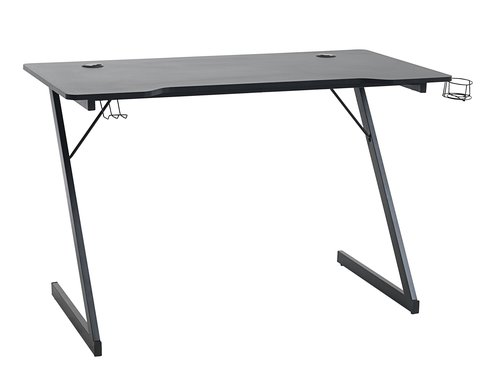 Gaming desk HALSTED 60x120 black