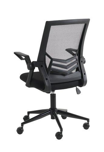 Krzesło biurowe ASPERUP czarny
