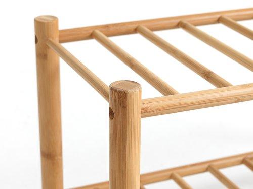 Skoreol VANDSTED 2 hylder bambus