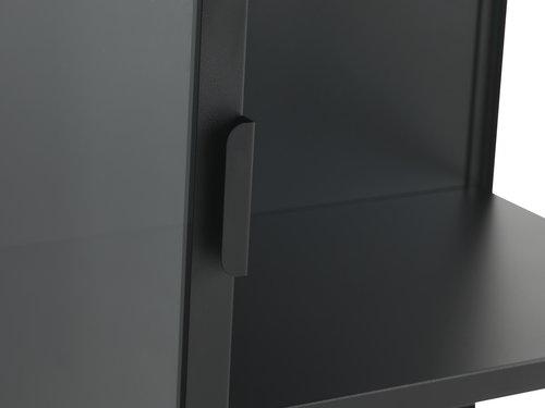 Witryna VIRUM 2 drzwi czarny