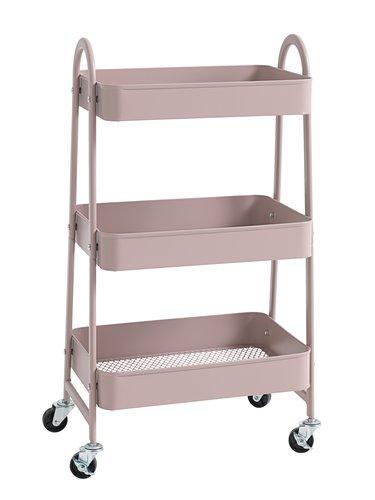 Trolley KANSTRUP roze