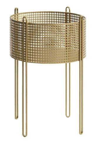 Ζαρντινιέρα GULDBORG Ø37 χρυσό