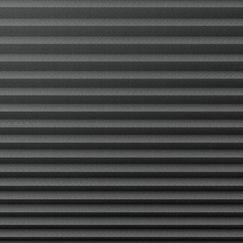 Plisségardin HVEN 140x130 grå
