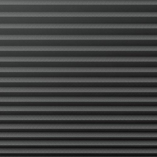 Plisségardin lystett HVEN 75x130 grå