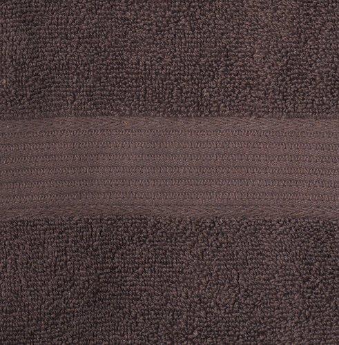 Ręcznik KARLSTAD 50x100 brązowy