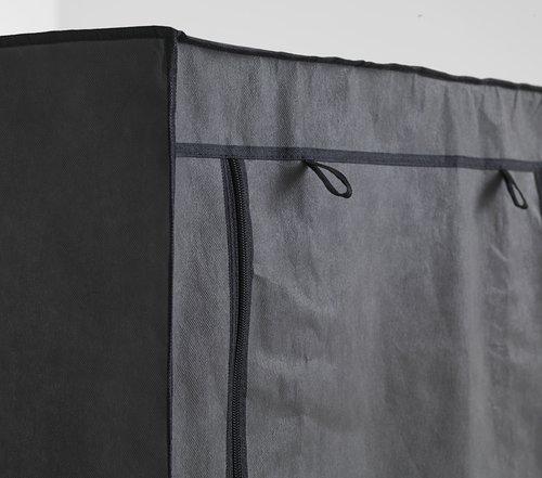 Kleerkast DAMHUS 100x174 d.grijs