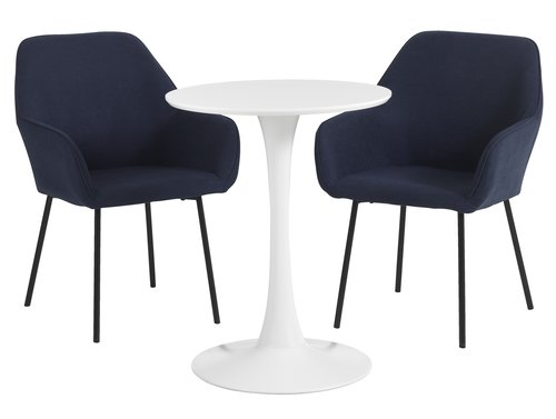 Miza RINGSTED + 2 stola HADRUP