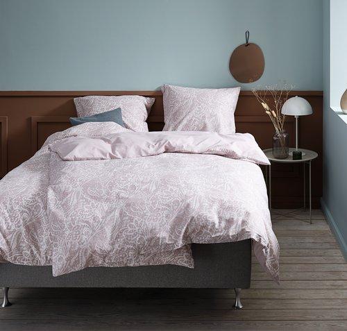 Lenjerie de pat+cearsaf AMALIE 200x220