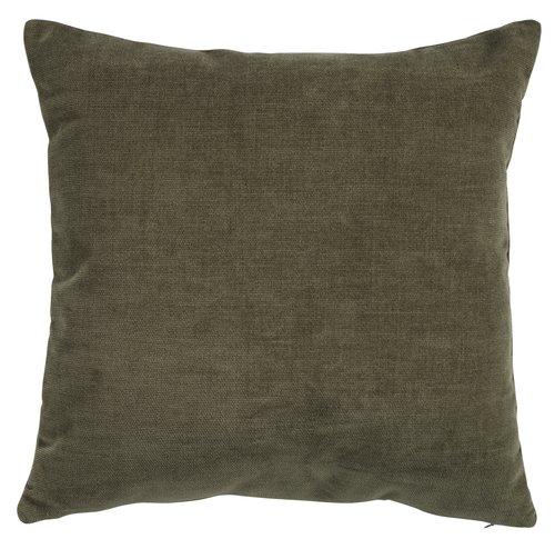 Cushion HORNFIOL chenille 45x45 green