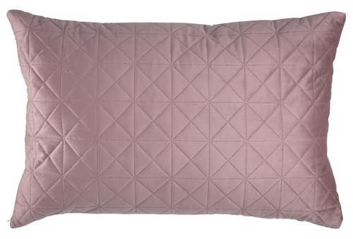 Rygpude ENGBLOMME velour 60x90 rosa