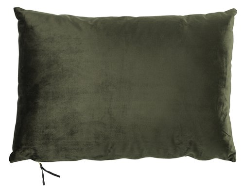 Подушка LILJE 35x50 см велюр зеленый