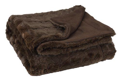 Plaid MYGGBLOM 130x170 brun