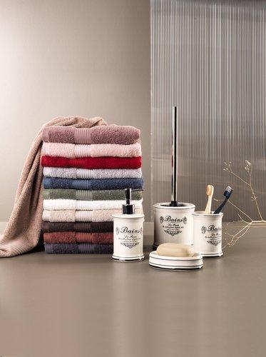 Πετσέτα μπάνιου KARLSTAD σταχτί