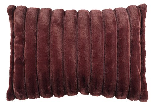 Cushion KORNSTEN velour 35x50 burgundy
