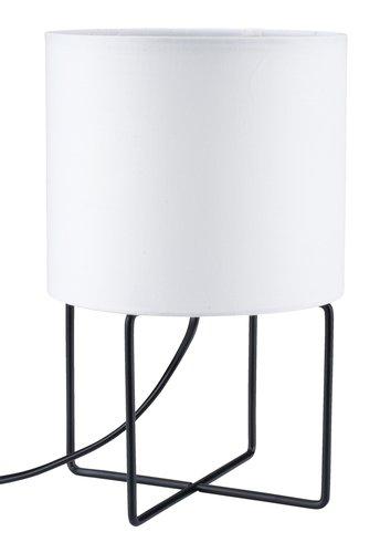 Veioză BRANDUR 16x25cm albă