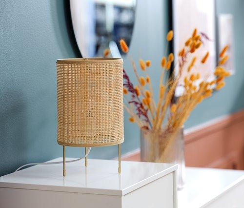 Lampada da tavolo ALBERT Ø19xH31cm oro