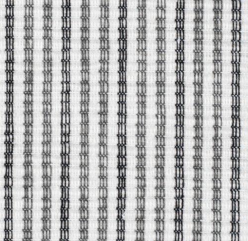 Tischset HVITROT 33x42 grau/weiß