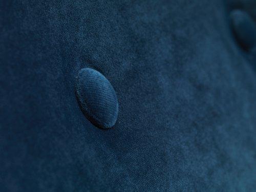 Fotoliu EGEDAL catifea bleumarin
