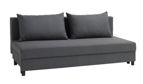 Canapea extensibilă NORSMINDE gri închis