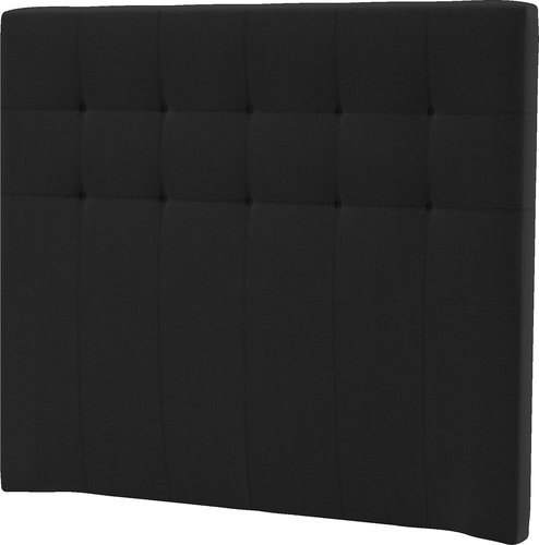 Sengegavl H50 STITCHED 140x125 svart-10