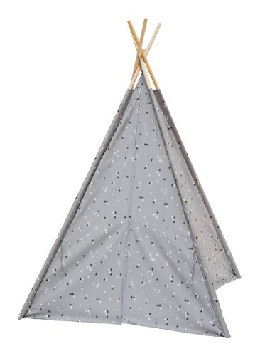 Tente jeu SMILLA 160x120 triangle rose