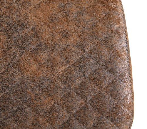 Tabouret de bar PEBRINGE brun