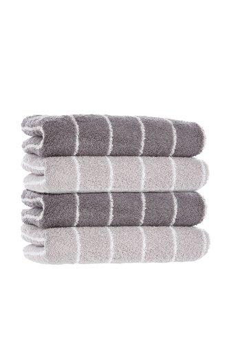 Handtuch SOFIL STRIPE grau