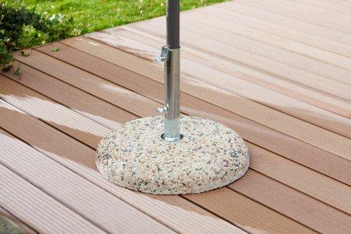 Pied parasol FJELLRYPE 35kg ciment