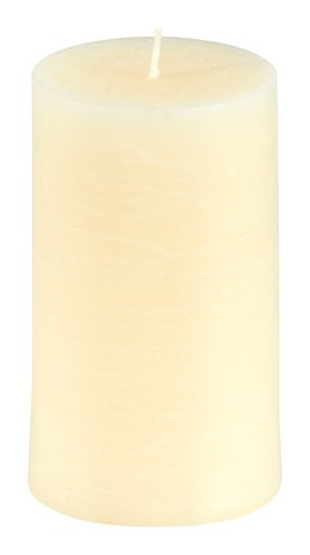 Bougie pilier EILEF Ø7xH12cm beige