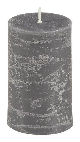 Stumpenkerze EILEF Ø5xH8cm dunkelgrau