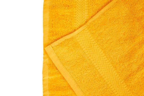 Serviette de toilette BREEZE 50x90 jaune