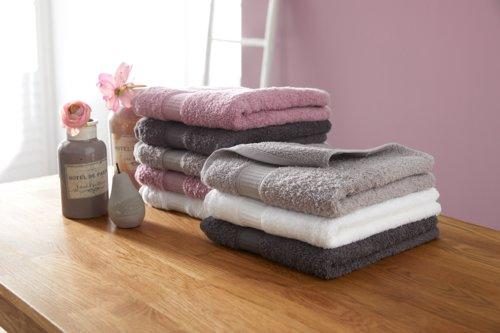 Asciugamano KRONBORG DE LUXE rosa cipria