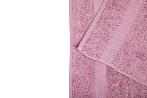 Handtuch KRONBORG DE LUXE staubrosa