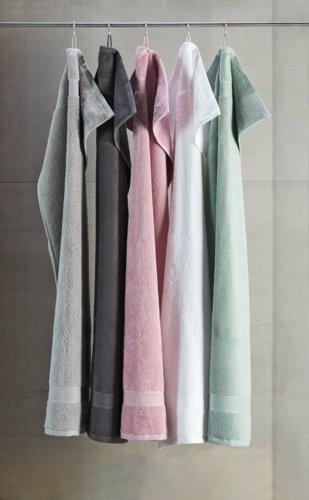 Handtuch KRONBORG CLASSIC staubrosa