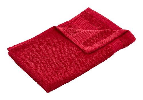 Gästehandtuch KRONBORG CLASSIC rot