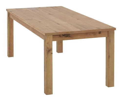 Table VINDUM 90x190cm chêne
