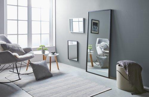 Miroir SOMMERSTED 68x152 noir