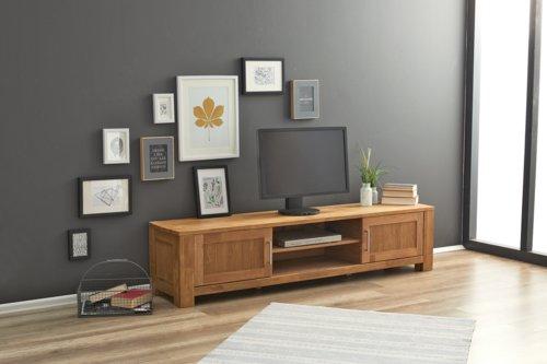 TV-Bank OLDE XL 2 Türen Eiche