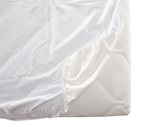 Lenzuolo impermeabile160x200x20cm bianco