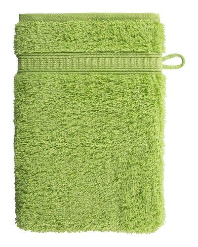 Waschhandschuh KRONBORG DE LUXE grün