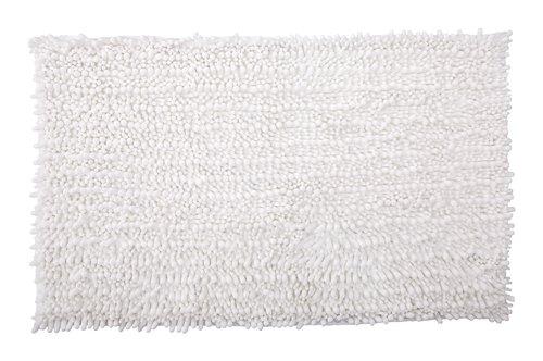 Badematte MICRO CHENILLE 50x80 weiß