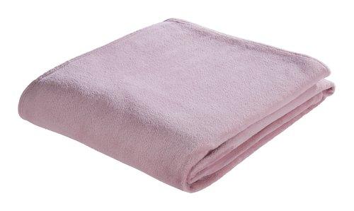 Plaid MYRFIOL pile 200x220 rosa