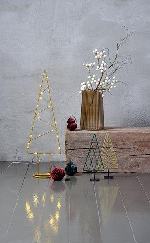 Kerstboom STIBNIT H23cm assorti