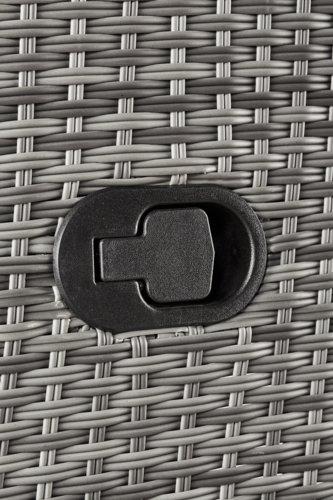 Lettino prendisole COLOMBO 60x195 gri.