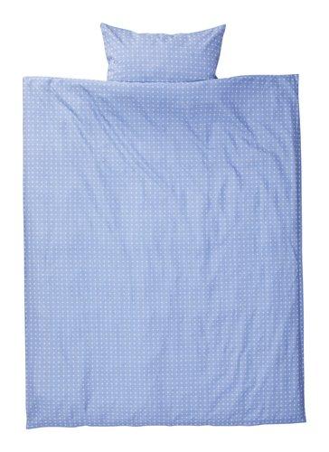 Conj capa edredão KATJA 160x220 azul