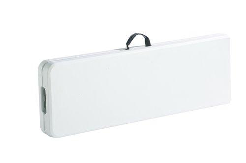 Panca ABORG L181xP30 bianco
