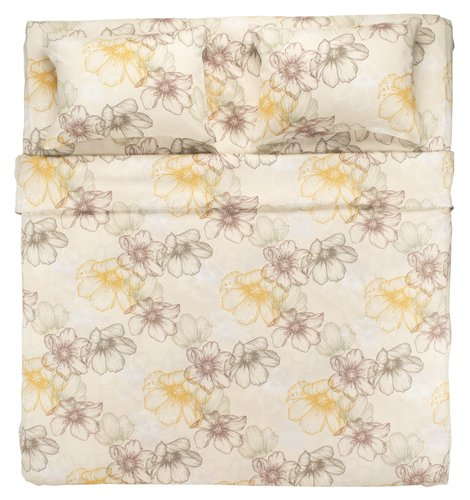Conjunto lençóis BELMA cetim 240x280